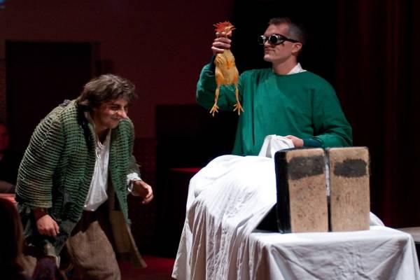 Frankenstein bei seinem größten Experiment