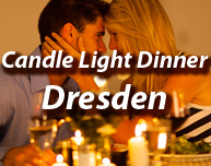 Candle Light Dinner in Dresden