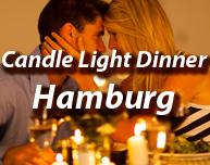 Candle Light Dinner in Hamburg