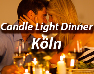 Candle Light Dinner in Köln