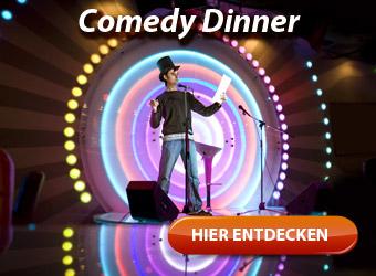 Comedy Dinner - Spannung, Spaß und zahlreiche Lacher