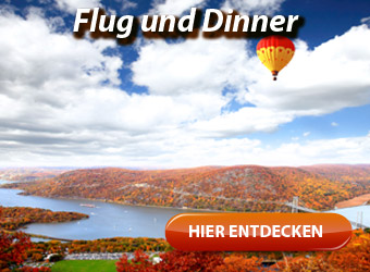 Gourmetflug - Flug und Dinner, Candle Flight Dinner, Dinner-Flug