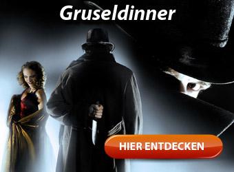 Gruseldinner - Spannung und Nervenkitzel bei Dracula, Frankenstein und Co.