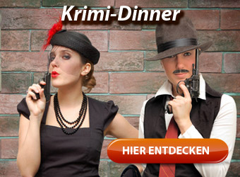 Krimi-Dinner - Beste Unterhaltung mit Kriminalfall