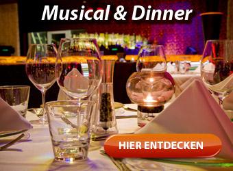 Musical-Dinner - musikalischer Augenschmaus