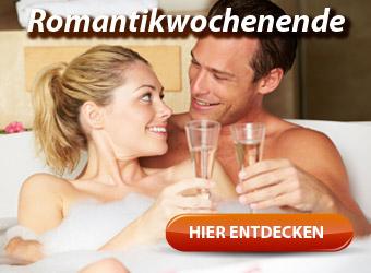 Romantikwochenende für Verliebte - Zu Zweit ein romantisches Wochenende genießen